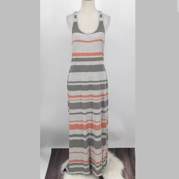 064b5453a76 LOFT Dresses   Skirts - Ann Taylor LOFT Maxi Dress SZ S Racerback Striped